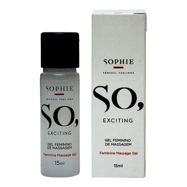SO EXCITING GEL EXCITANTE FEMININO SOPHIE