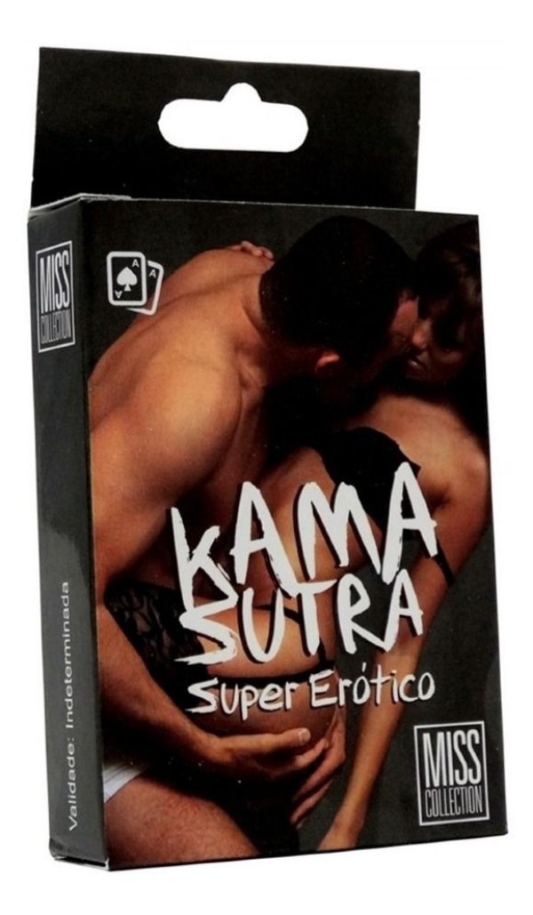 BARALHO KAMA SUTRA SUPER ERÓTICO MISS COLLECTION