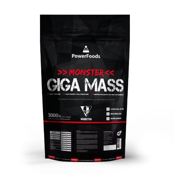 Monster Giga Mass – 3Kg
