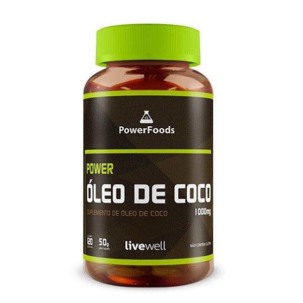 Power Óleo de Coco – 120 cápsulas