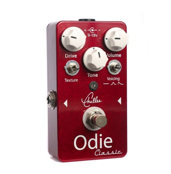 Chellee Odie Classic – O Vintage Voiced Boutique Tube Screamer