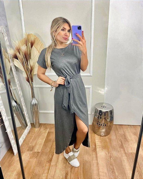Vestido Luma - cinza
