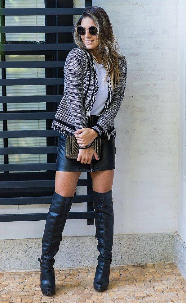 Casaquinho tricot PB maravilhoso