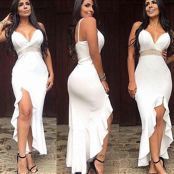 Vestido white maravilhoso