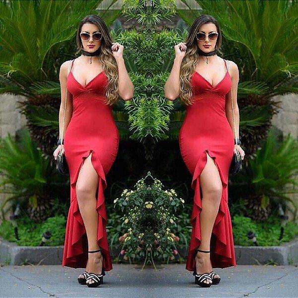 Vestido red maravilhoso