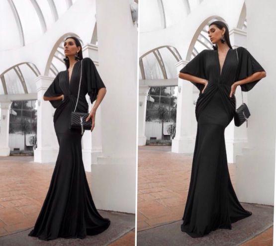 Vestido de festa Victoria - Preto