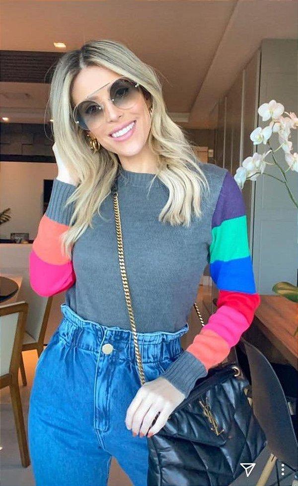 Suéter manga colors