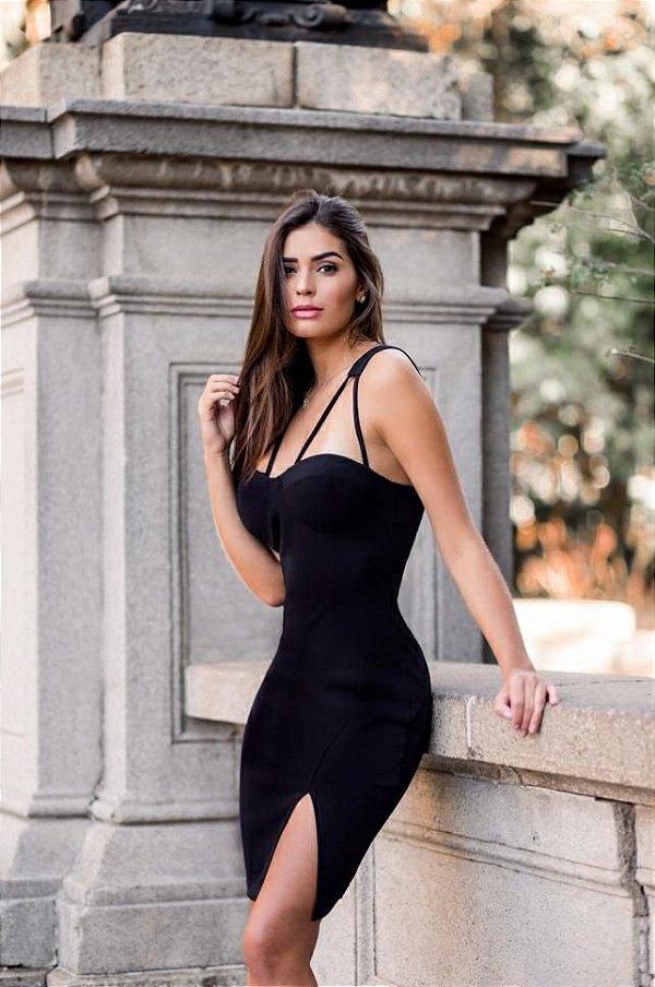 Vestido de festa Serena - Preto