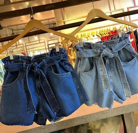 Shorts jeans Desejo - lavagem clara
