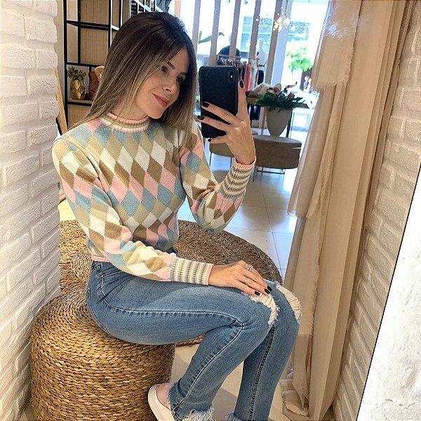 Blusa em tricot Sweet Diamond