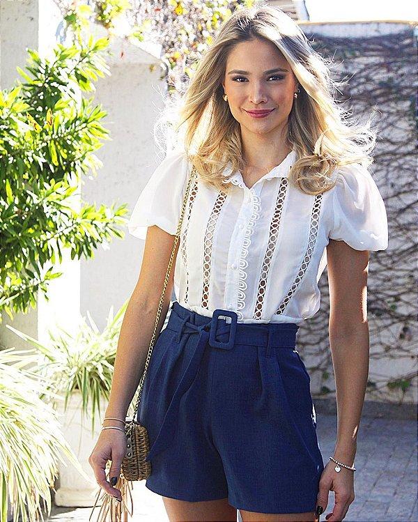 Camisa de manguinha princesa - Talita