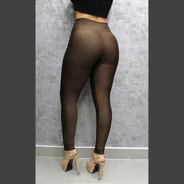 Legging em suplex Basic (não fica transparente) - Marrom