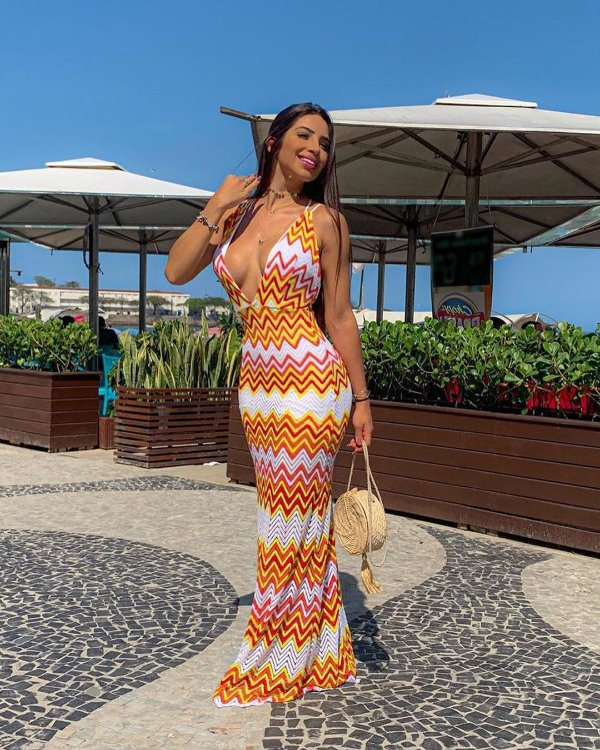 Vestido longo Sunshine