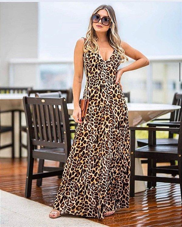 Long Dress Onça