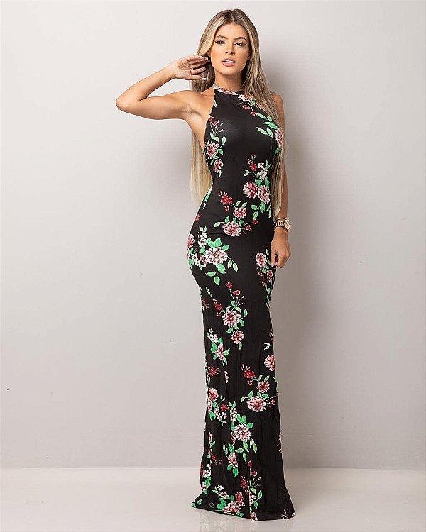 Vestido Flower Empina bumbum