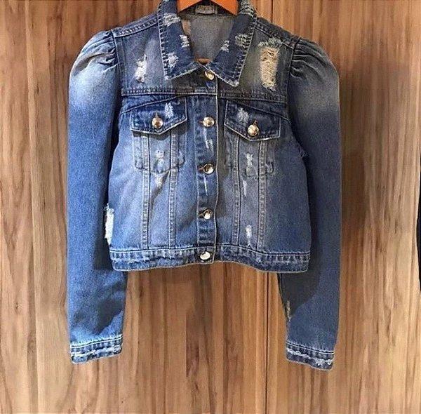 Jaqueta Jeans Crissy