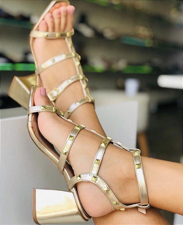 Sandália Rock Heels