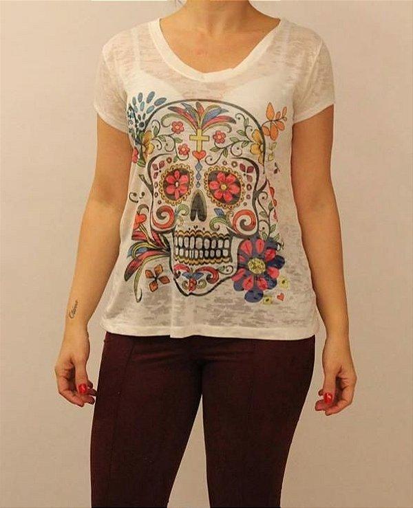 T-shirt Caveira Florida