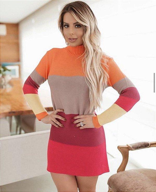 Vestido Tricot Happy Colors