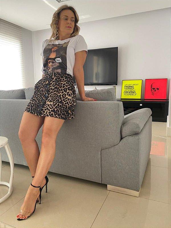 Tshirt Monalisa Cat