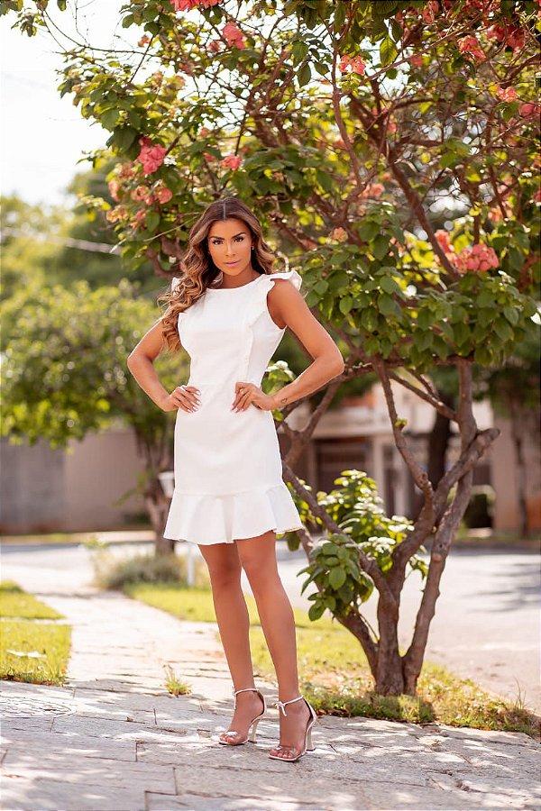 Vestido Paola - Off White