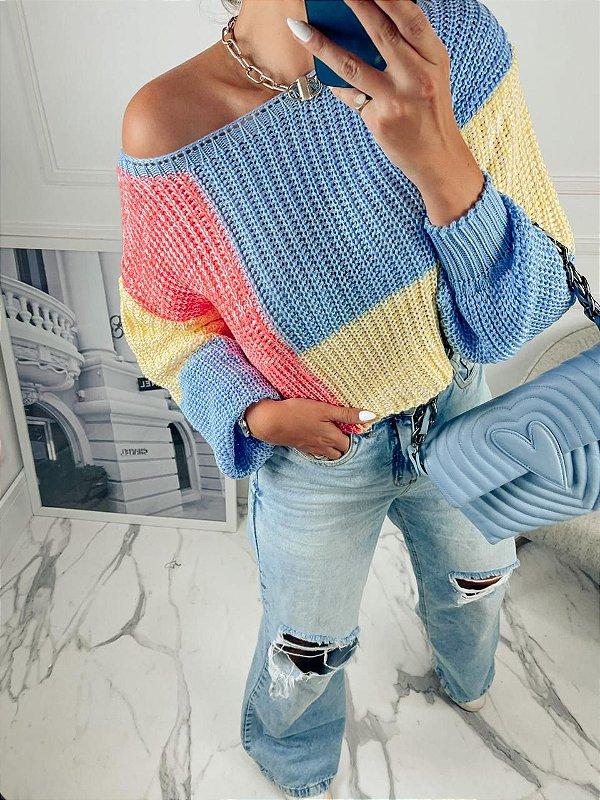 Cropped em tricot Larissa