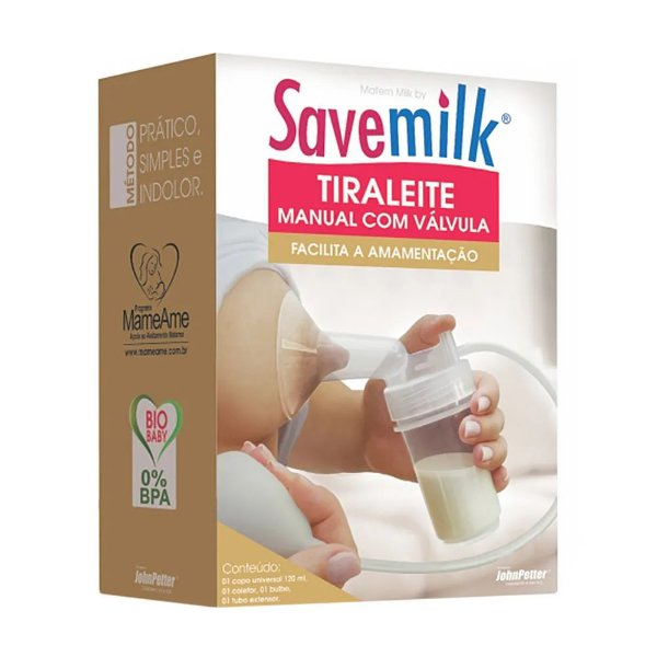 Bombinha de Tirar Leite Manual - Savemilk