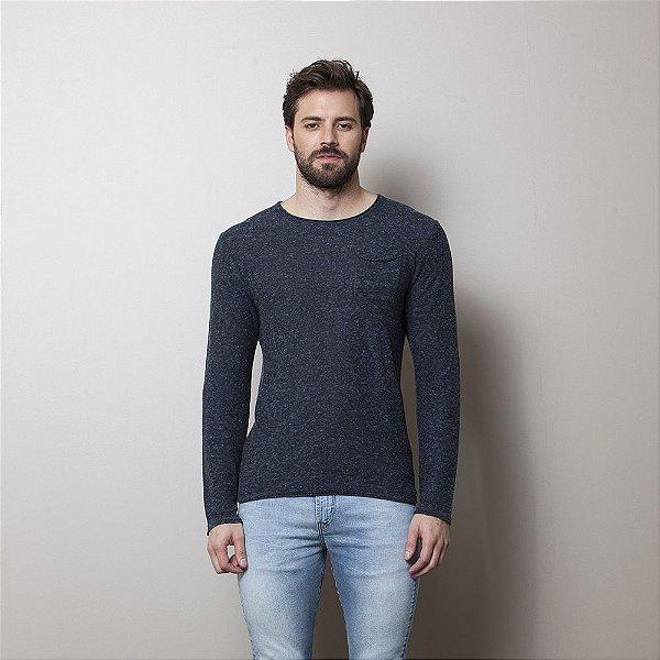 Malha Jeans Azul Marinho - Enzo Milano