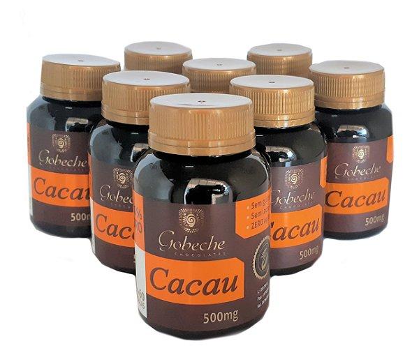 Cápsulas de Cacau Gobeche -  Kit com 8 potes de 60 cápsulas