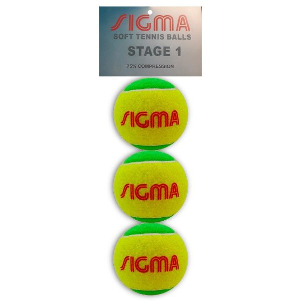 3cc249496b Bola De Tênis Sigma Kids Stage 1 Verde - Hit Tennis Sports - Loja de ...