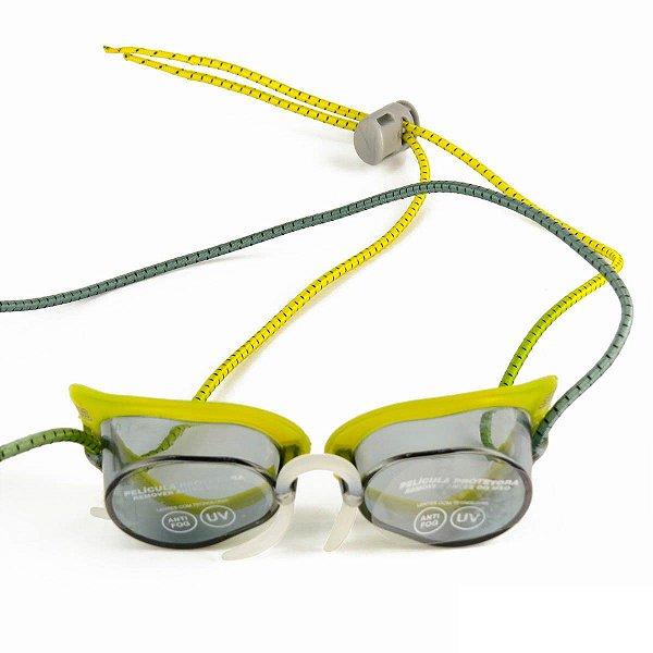 dfb47d07f Óculos De Natação Speedo Speed Amarelo fumê - Estilo Sueco - Hit ...