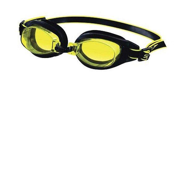 893cf8207 Óculos de Natação Freestyle 3.0 Speedo - Preto e Amarelo - Hit ...