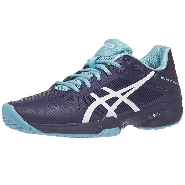 86886026a Tenis Asics Gel Solution Speed 3 - Azul - Hit Tennis Sports - Loja ...