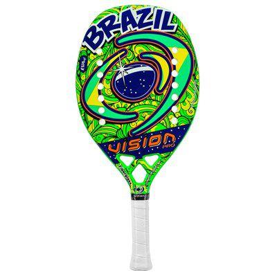 ee9c92369 Raquete de Beach Tennis Vision Brasil 2017 - Hit Tennis Sports ...