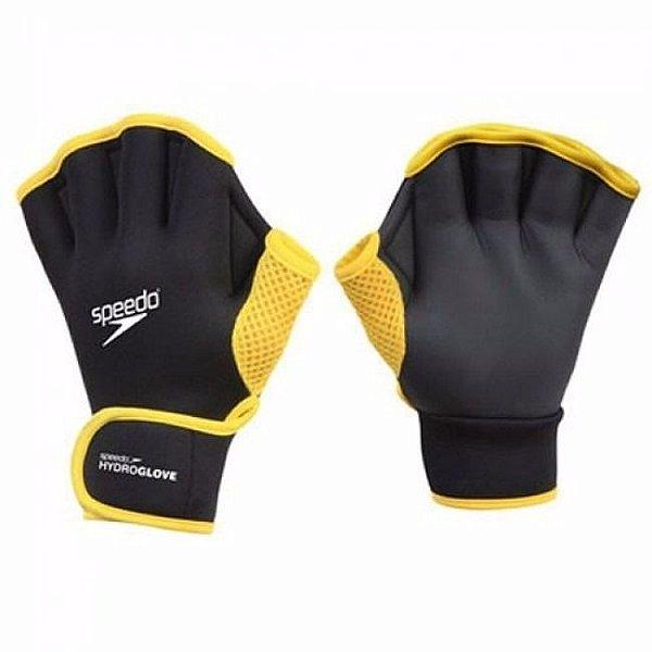6dff25985 Luva Speedo Hydro Gloove M - Preto amarelo - Hit Tennis Sports ...