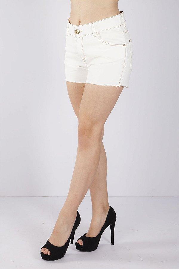 Shorts Jeans Bana Bana Off White