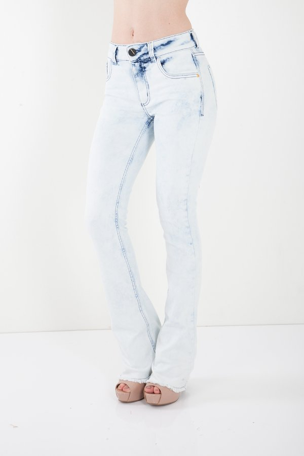 Calça Jeans Bana Bana High Boot Cut Azul