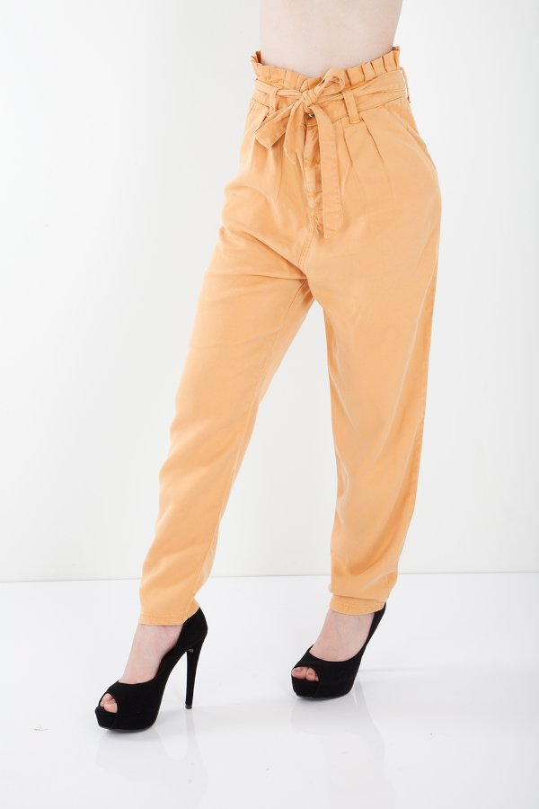 Calça Jeans Bana Bana Clochard Liocel Caramelo