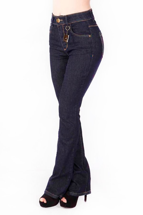 Calça Jeans Bana Bana High Flare Tradicional