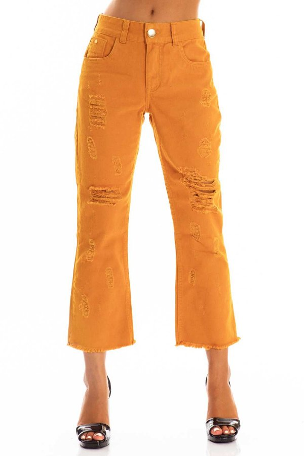Calça Jeans Bana Bana Cropped Flare