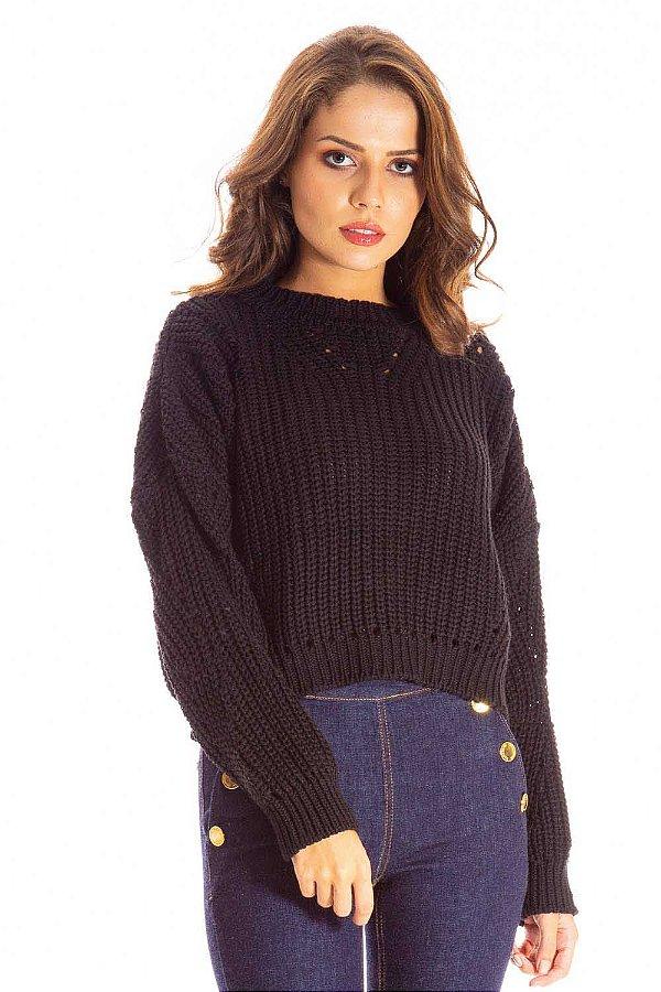 Blusa Tricot Bana Bana Oversized