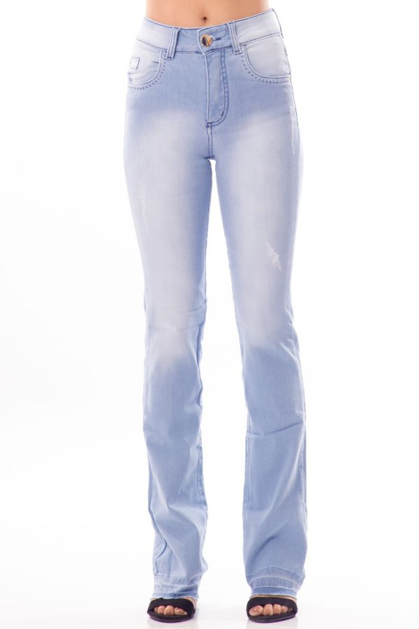 Calça Jeans Bana Bana High Boot Cut