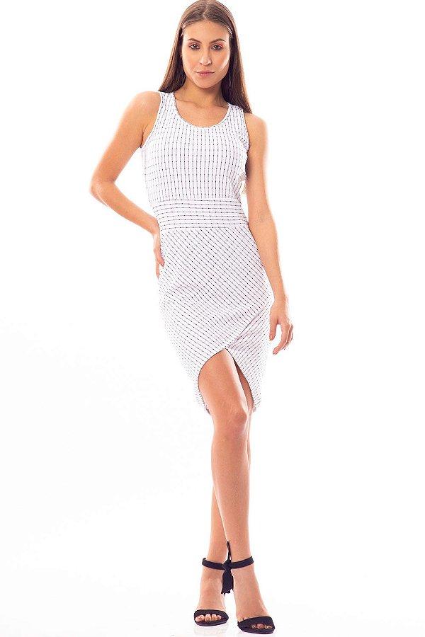 Vestido Curto Bana Bana Curto Branco