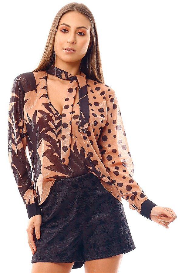 Camisa Bana Bana Chocker com Estampa