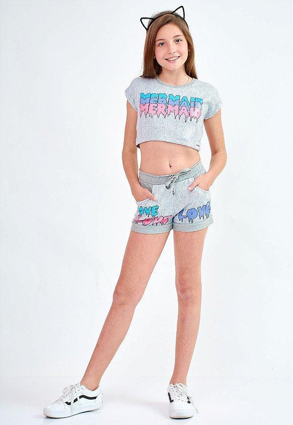 Shorts Bana Bana Star com Paetê