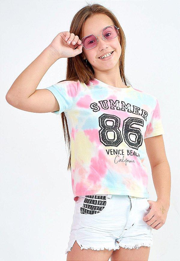 T-Shirt Bana Bana Star Tie Dye