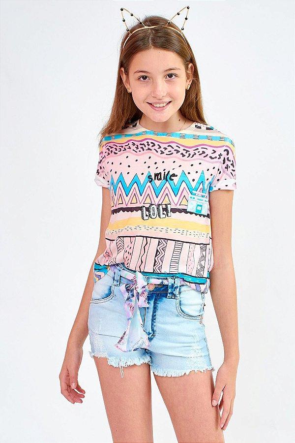 T-Shirt Bana Bana Star Estampada