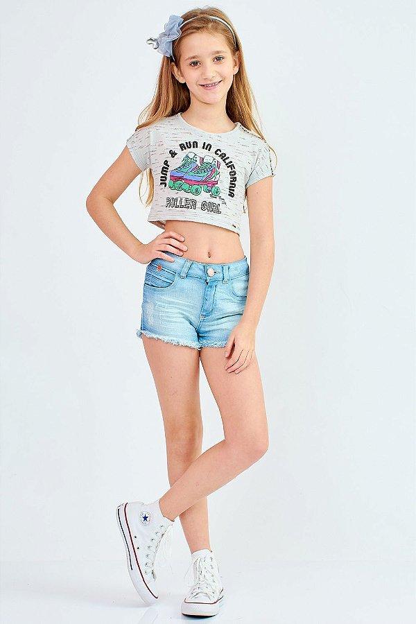 Blusa Bana Bana Star T-Shirt Off White