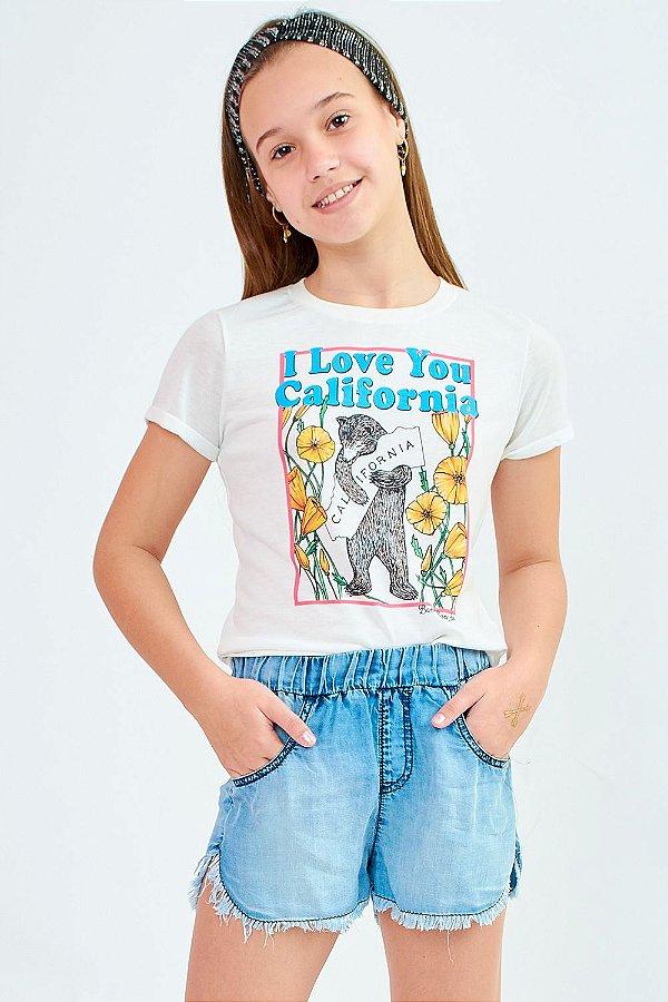 T-Shirt Bana Bana Star Branca