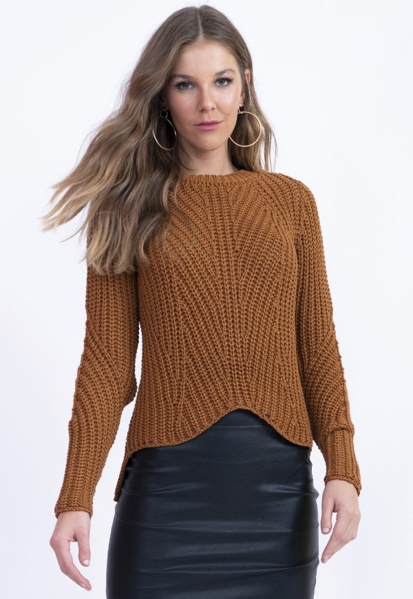 BLUSA TRICOT CASUAL - FRONTAL